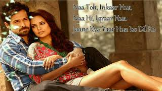 Tera Didar Hua Song Lyrics| Jannat 2 | romantic song - YouTube