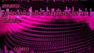 Quieres Ser Mi Amante Cumbia Sonidera Karaoke 2014 Pista Sin Voz  Thornado