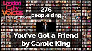"""""""You've Got A Friend"""" by Carole King – sung by London City Voices choir, campaigning for Women's Aid"""