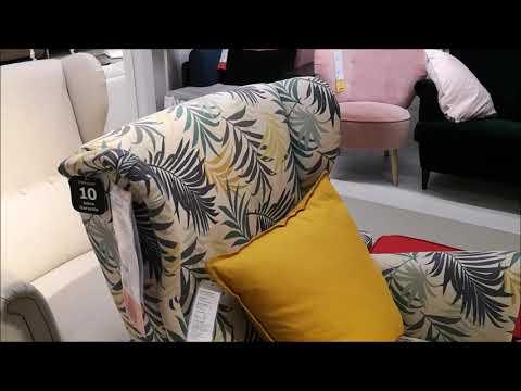 Ohrensessel mit Hocker: IKEA Strandmon