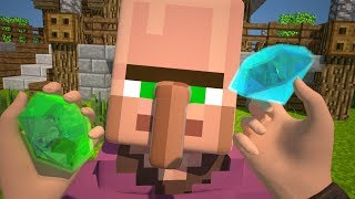 Minecraft Animation   Diamonds Trade
