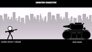 6802Animation for characters