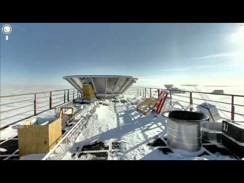Google Maps : Street View en Antarctique