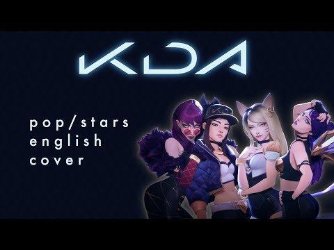 K/DA- POP/STARS English Cover By AkaHaru - смотреть онлайн