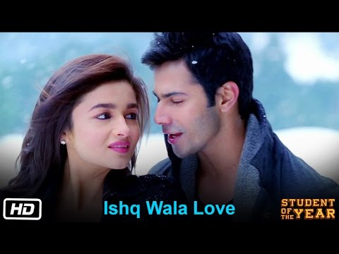ishq wala love student of the year the official song sidhart