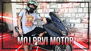 MOJ PRVI MOTOR!! *emocionalno*