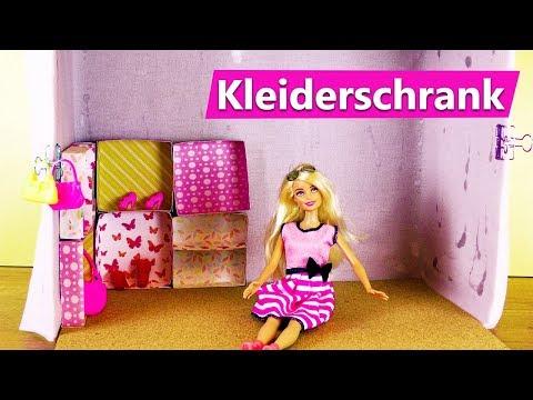 Barbie Kleiderschrank Selber Machen Einfach Begehbarer Schrank