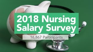 View the video 2018 allnurses.com Salary Survey results