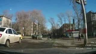 Серьезное ДТП Ульяновск, Стасова и Рябикова ( 04.04.2017)