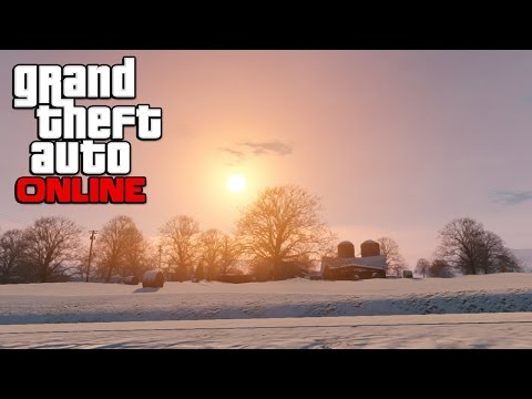GTA 5 Online - North Yankton DLC! Extreme Bank Heists, Snow Vehicles And Snow Sports! (GTA 5 DLC)