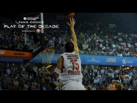 Round 8 winner, Fans Choice Play of the Decade: Georgios Printezis