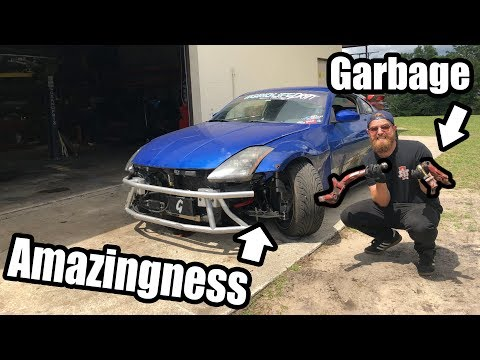 Resurrecting The 350Z After CLEETUS CRASH! Finally Gets A Big Boy