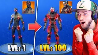 "TIER 100 ""OMEGA"" SKIN *UPGRADED* in Fortnite: Battle Royale!"