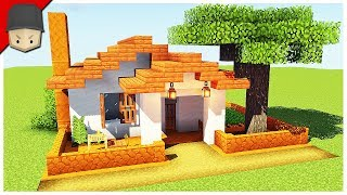 How To Build A Small Simple House In Minecraft Minecraft House Tutorial Minecraftvideos Tv