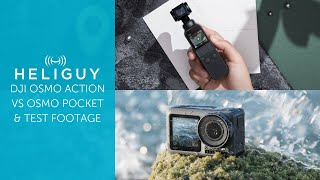 DJI Osmo Action VS DJI Osmo Pocket / Full Comparison & Test Footage