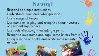 Starting Nursery - Information for Parents/Carers