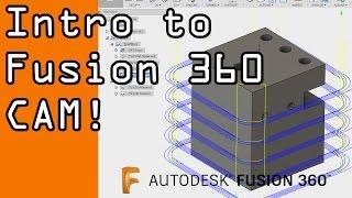 Fusion 360 Basic CAM Tutorial! FF53