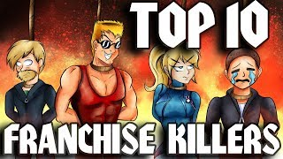Top Ten Video Game Franchise Killers