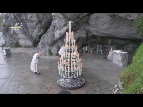 Messe de 10h à Lourdes du 22 février 2021