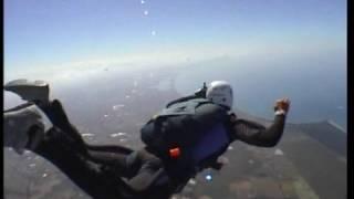 preview picture of video 'Skydive Corso Aff Nettuno Crazy Fly Dal1° al 7° livello'