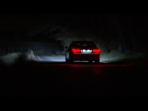 BMW macht die Nacht zum Tag - das Laserlicht