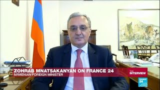 Interview of Zohrab Mnatsakanyan, Minister of Foreign Affairs of Armenia, to France 24