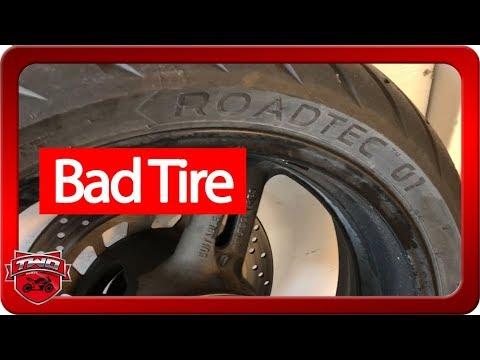 Bad Metzeler Roadtec 01 Tire