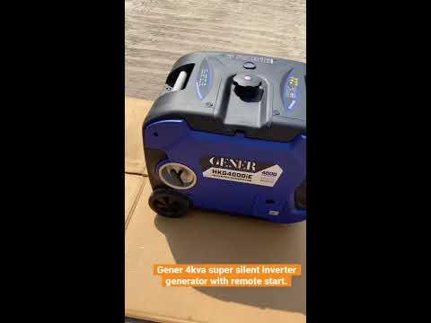 Silent Inverter Portable Petrol Generator HKG4000IS, Similar To Honda Eu30is