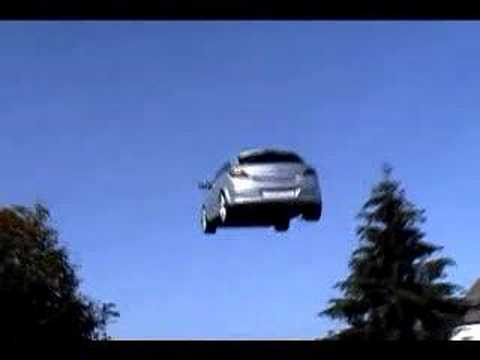 Flying Car Takes Off And Lands