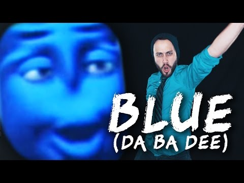 Blue Da Ba Dee - metal cover