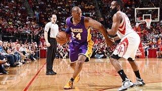 Kobe Bryant Duels James Harden in Houston - Video Youtube