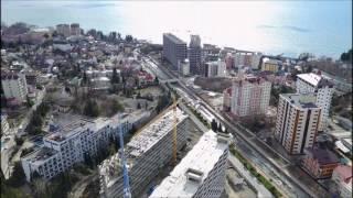 Район Мамайка в Сочи с квадрокоптер || Обзор районов в Сочи