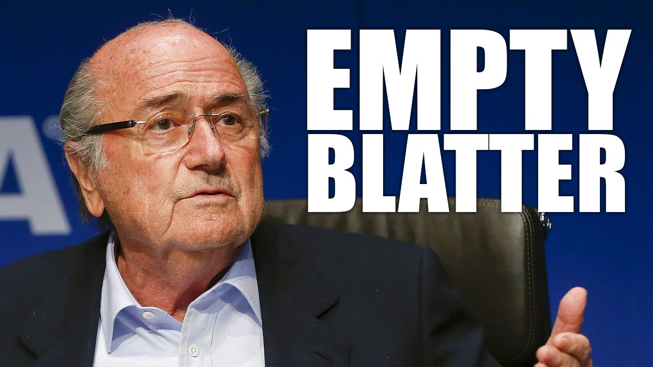 FIFA Supervillain Sepp Blatter Takes His Balls And Goes Home thumbnail