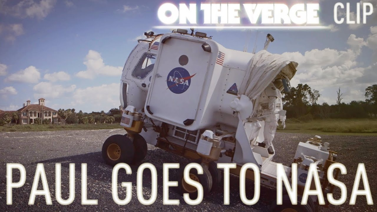 Paul goes to NASA - On The Verge thumbnail