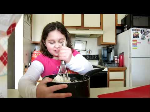Video Cooking With an 8 Year Old