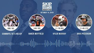 UNDISPUTED Audio Podcast (10.14.19) with Skip Bayless, Shannon Sharpe & Jenny Taft   UNDISPUTED