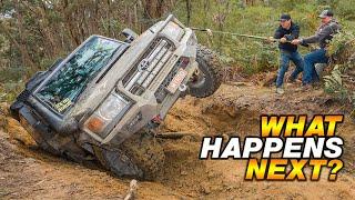 EVERYONE HAD TO WINCH! Bush Mechanics, Angle Grinders, Chainsaws & Shauno's funniest cook up yet!