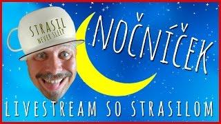 NOČNÁ DÁVKA POETIKY | Nočníček stream (#2) SK-CZ záznam z livestreamu w/ EvŽen