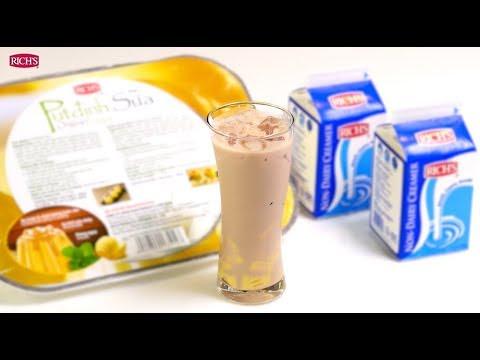 Hướng dẫn pha chế Trà Sữa từ Rich's Non-Dairy Creamer
