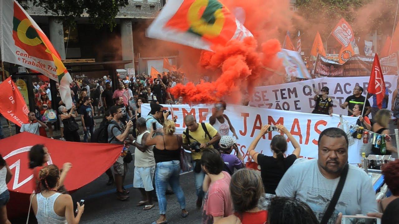 Crisis política en Brasil amenaza la presidencia de Temer