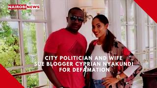 Steve Mbogo And Wife Sue Blogger Cyprian Nyakundi For Defamation