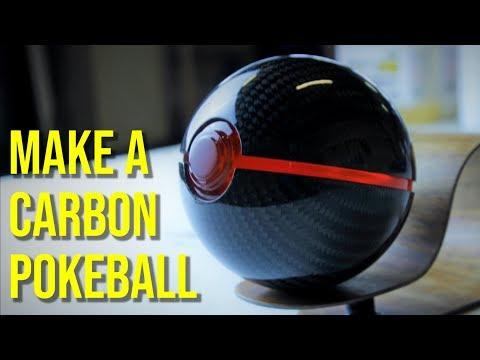 Making a Carbon Fiber Pokeball