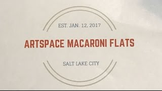 Press Conference - Artspace Macaroni Flats Ribbon Cutting
