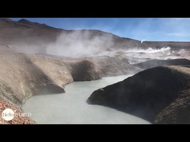 """Abenteuer 100 Tage Südamerika: Surreal Geysers """"Sol de Manana"""" in Bolivien"""