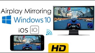 How to enable AirPlay Mirroring on Windows | No Paid Software, No Cables | iOS 10.x UPDATED