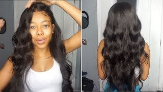 HOW I CURL MY HAIR: LOOSE CURLS USING CURLING WAND | ASTERIA HAIR