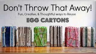DIY Egg Cartons Crafts Compilation
