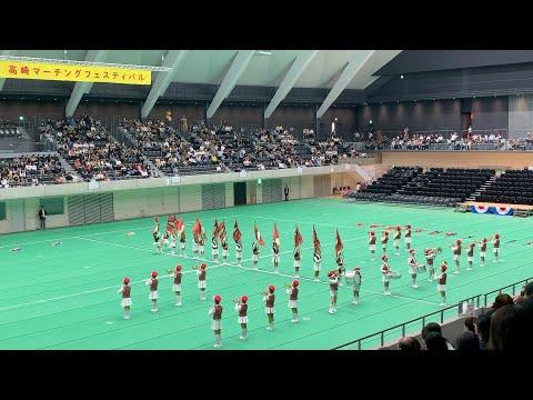 高崎マーチングフェスティバル 第30回 高崎市立片岡小学校 Marching band フロアド