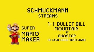 1-1: Bullet Bill Mountain by GhostCP - Super Mario Maker