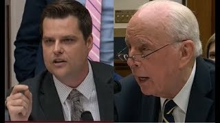 Gaetz and John Dean Spar Over Mueller Report
